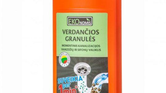 vamzdžių valymo granulės