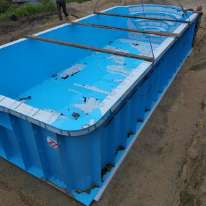 plastikiniai lauko baseinai