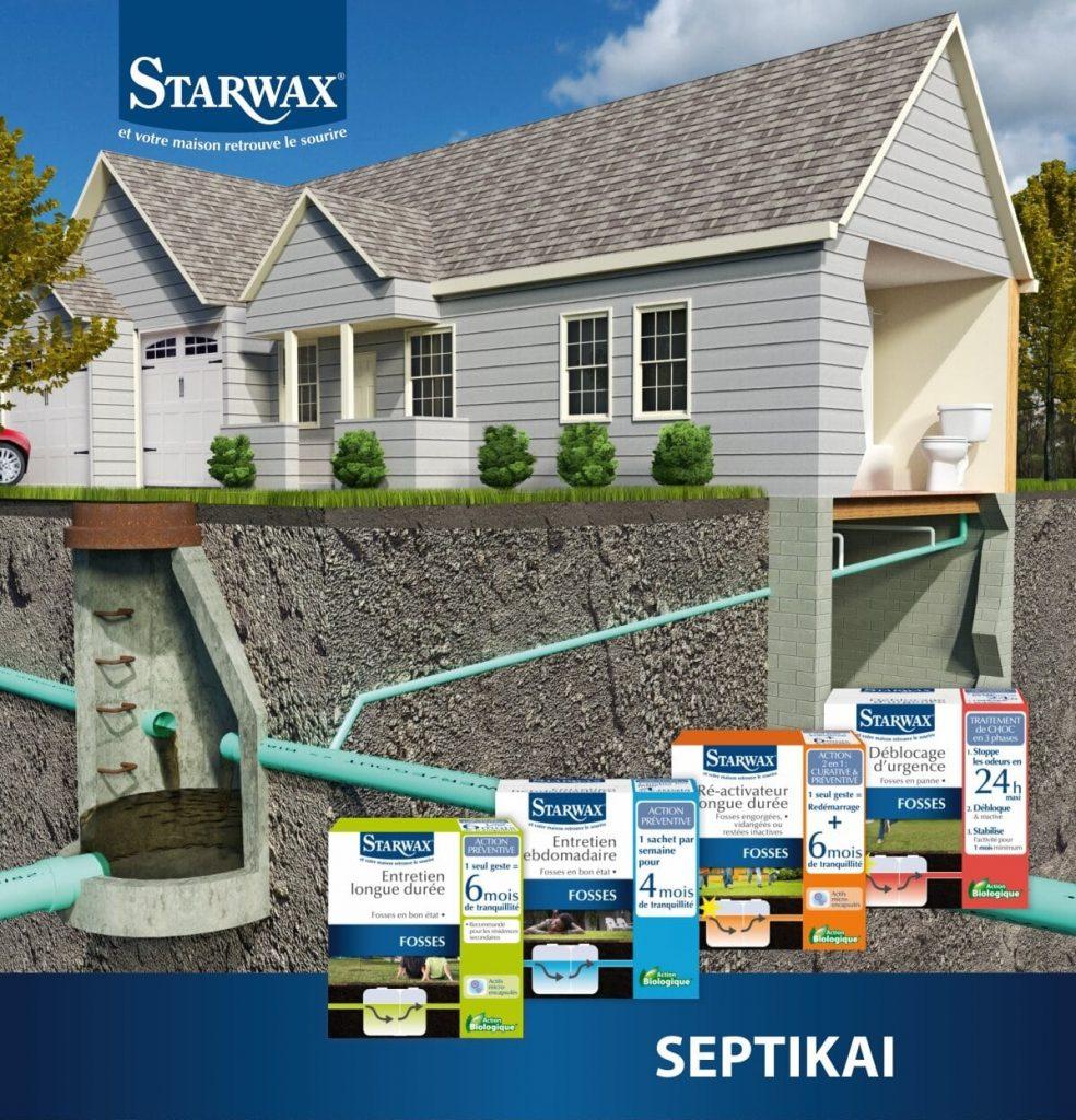 Bakterijų STARWAX kaina