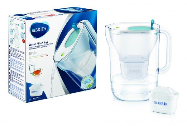 BRITA vandens filtravimo ąsotis Style, 2,4L