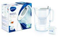 BRITA vandens filtravimo ąsotis Style, 3,6L, Pilkas